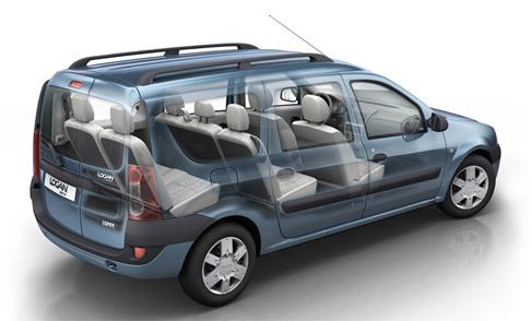 Dacia Logan 7 Seat
